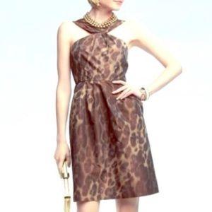 Banana Republic | Leopard Dress | Size 6